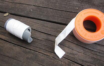 INAXトイレタンク オーバーフロー管折れの応急処置